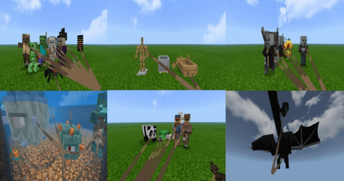 Addon LEASH ALL MOBS 1.16
