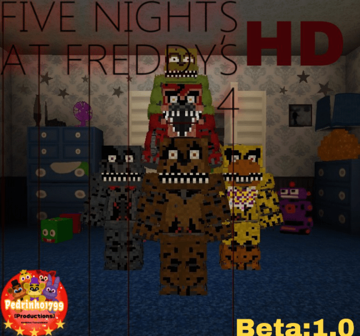 Map Five Nights at Freddy's 4 Re-Creation 1.14