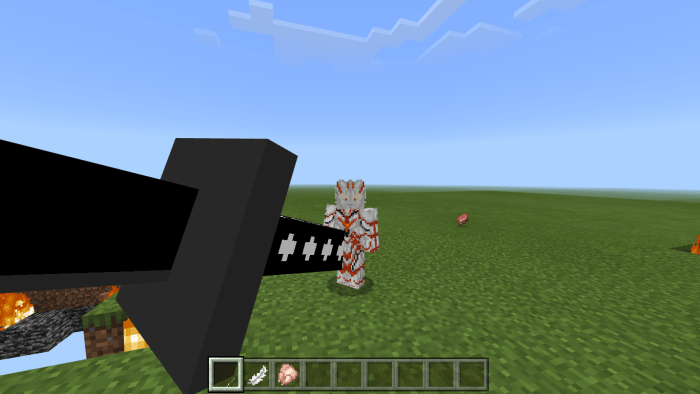 Addon Titan Creation Sword 1.14